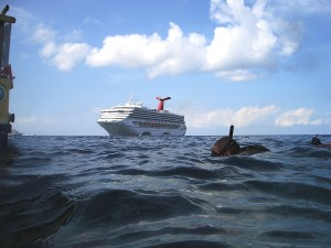Carnival Destiny in Grand Cayman