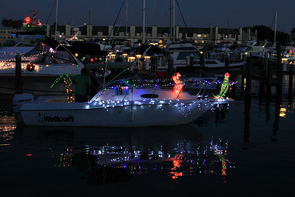 2013 Dunedin Holiday Boat Parade at Marker 1 Marina
