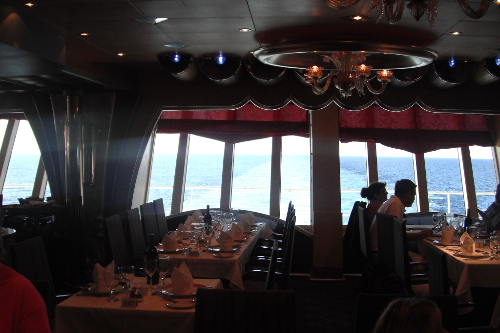 Silver Olympian dining room, Carnival Liberty